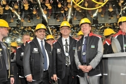 Diplomatic delegations of Latvia and Iceland visited INTERPIPE STEEL
