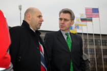 Посол США в Украине Джеффри Пайятт посетил ИНТЕРПАЙП СТАЛЬ