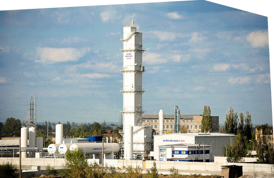 Technical gas provision – new oxygen plant
