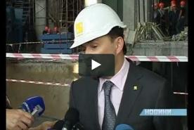 Александр Вилкул на Днепросталь